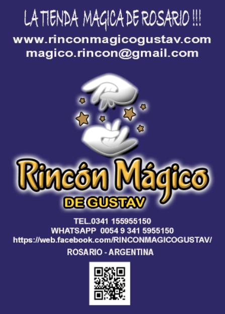 """Tienda de magia en rosario """"rincon magico"""""""