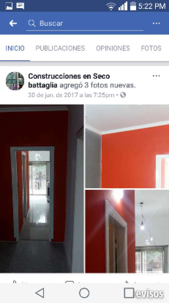 Albañileria pintura durlock