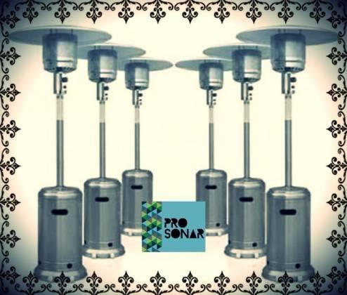 Alquiler de calefactores, estufas, sonido, carpas, gazebos,fotocabina,calefactores