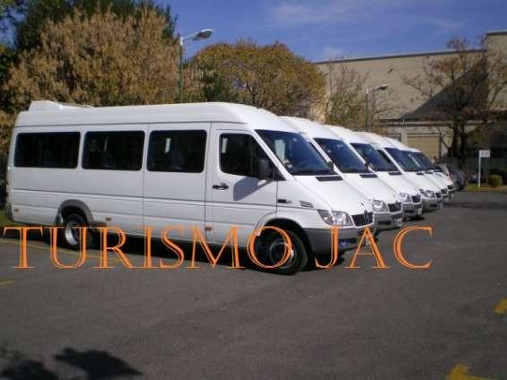 Jac empresa de viajes y turismo en combis