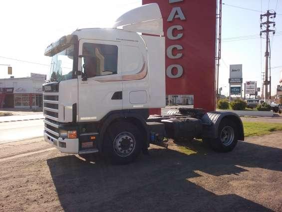 Scania r 340 mod.07 chasis tractor con plato