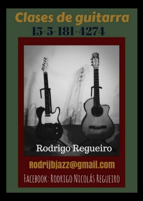 Clases de guitarra..