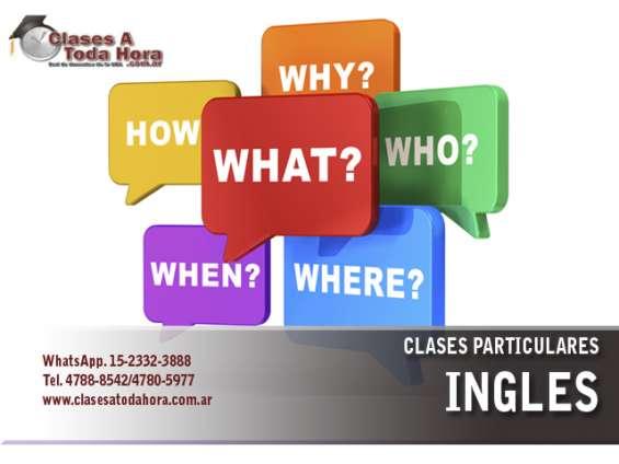 Maestras de ingles - clases particulares
