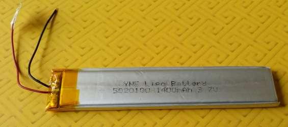 Batería de polímero de litio 3 7v, 1400mah - modelo 5020100