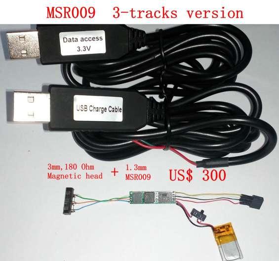 Colector de datos de una tarjeta de banda magnética sin computadora (msr009)