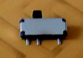 Un pequeño corredera-interruptor electric (sw001) – grosor 1,4mm