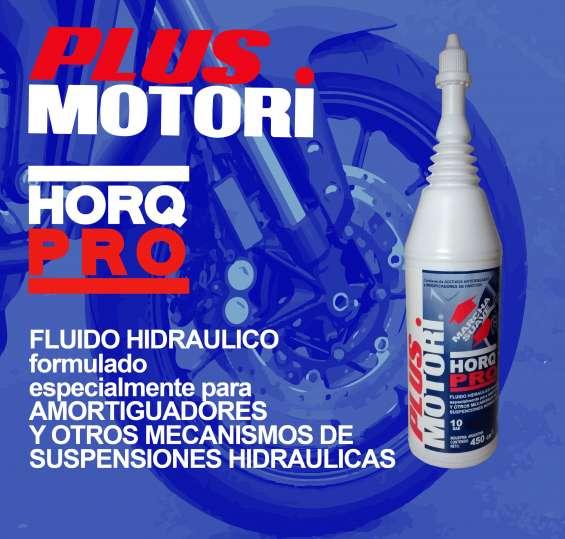 Aditivo hidráulico para suspensiones hidráulicas amortiguadores - plus motori horq pro