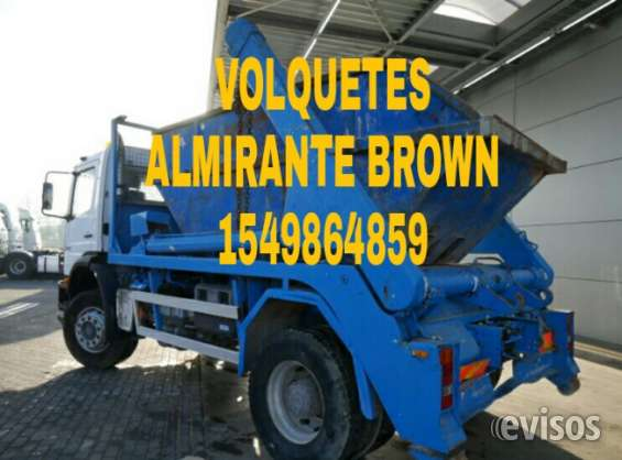 Volquetes almirante brown