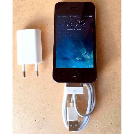 Iphone 4 negro. 8 gb.