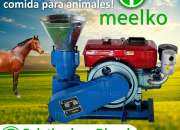 Peletizadora Meelko 120 mm Diesel 8 hp Mixta MKFD120A