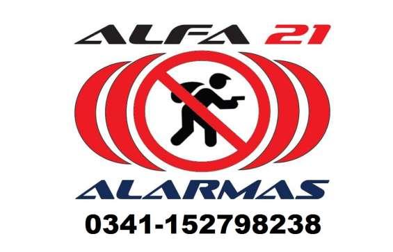 Alarma inalámbrica instalada con llamador telefónico