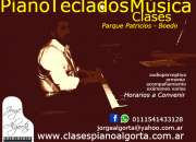 Clases piano,teclados, musica