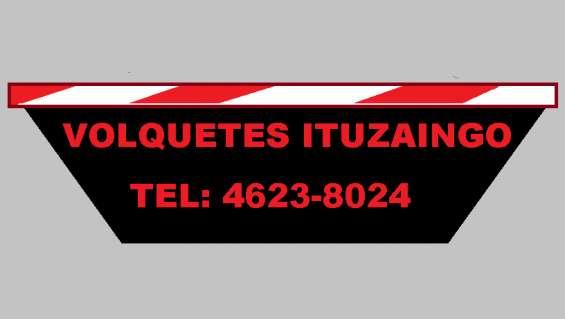 Volquetes ituzaingo-alquiler de volquetes/contenedores telefono 46238024/1538158903