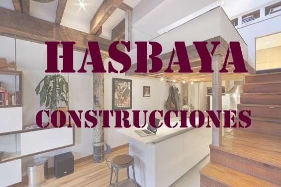 Servicio de obras refacciones y mantenimiento hasbaya