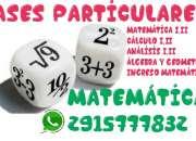 Calculo UNS Análisis, Algebra y Geometría