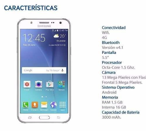 Samsung galaxy j7 cam de 13mp!! dual sim envios al interior y exterior