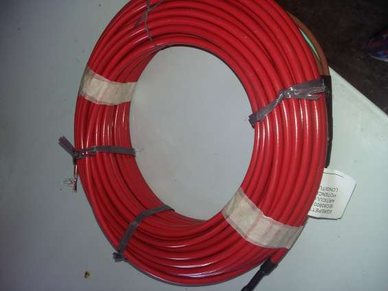 Cable calefactor mantenimiento temperatura cañerías tuberías tanques de agua
