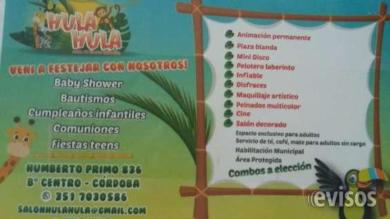 Hula hula - salón de fiestas infantiles