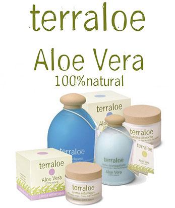 Terraloe, aloe vera 100% natural.