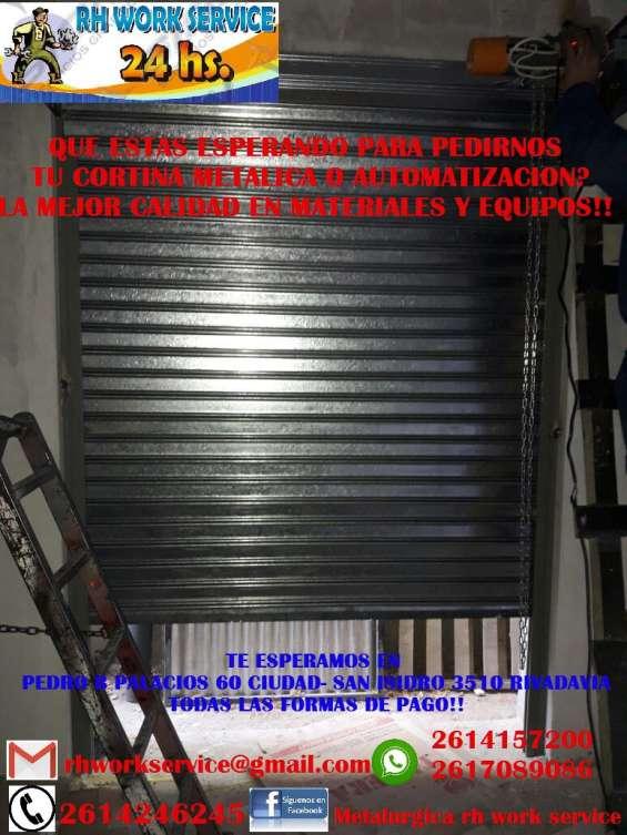 Rh work & service cortinas metalicas