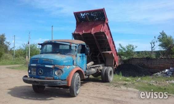 Camion mercedes volcador