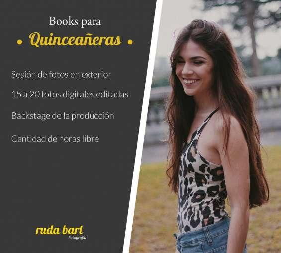 Incluye: sesión de fotos en exterior, sesión de maquillaje profesional 15 a 20, fotos en formato digital. duración de la jornada: libre