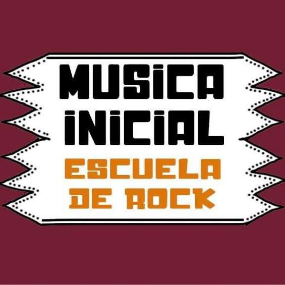 Escuela de rock-musica inicial-villa del parque
