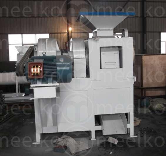 Maquina prensa meelko para hacer carbón en briquetas 4 toneladas hora gcxm-4