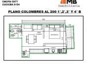 Almagro venta monoamb en construcción c/balcón en Colombres al 200 3°B