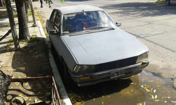 Peugeot 505 1987 con equipo de gnc 21000 pesos