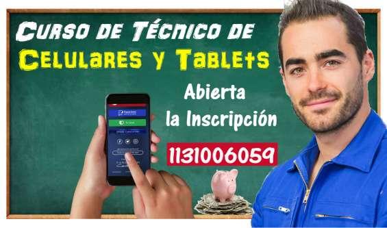 Curso de técnico de celulares y tablets