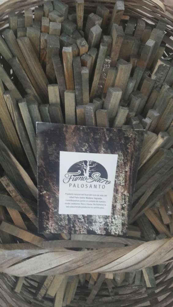 Palo santo fumo sacro x 1 kg. 100% ecologico y certificado