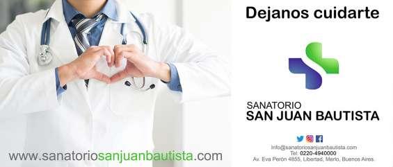 Medicina privada san juan bautista. conocenos en www.sanatoriosanjuanbautista.com