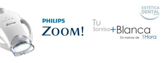 Blanqueamiento philips zoom