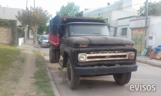 Camion chevrolet volcador
