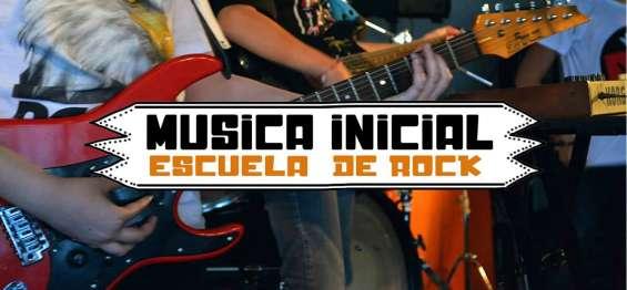 Escuela de rock-música inicial villa del parque