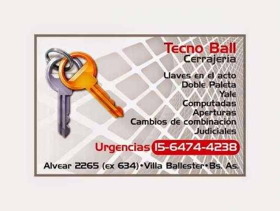 Cerrajero emergencias villa ballester 1164744238
