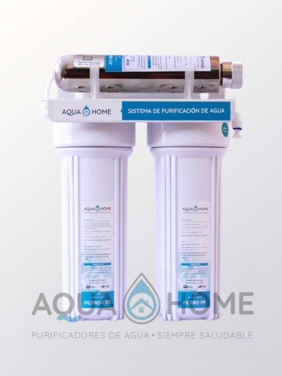 Filtro bajo mesada 3 estados c/ultravioleta aquahome