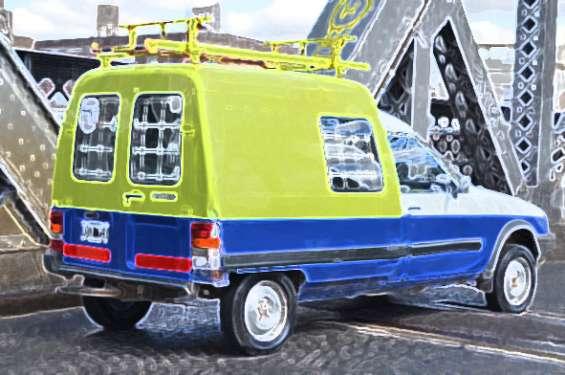 Furgoneta citroen c-15 diesel '99