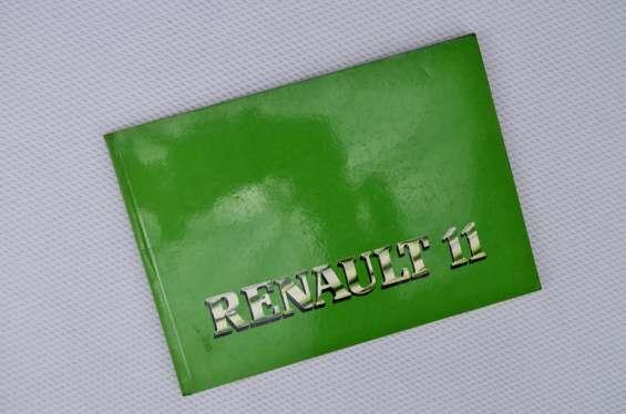 Manual renault 11 original