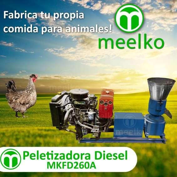 Meelko peletizadora para concentrados balanceados mkfd260a