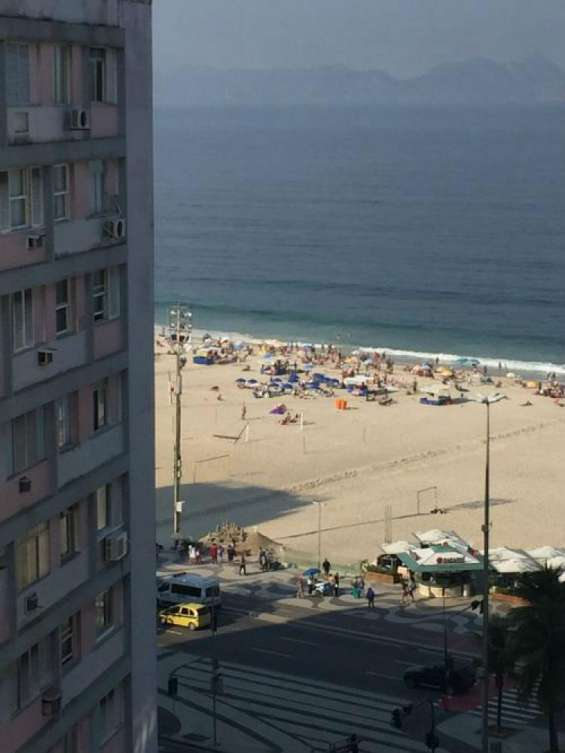 Copacabana cobertura triplex legalizada nova vazía frente praia 360 m2