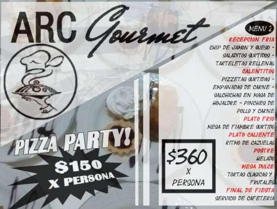 Eventos en merlo - arc gourmet menu 2