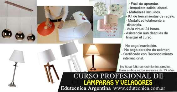 Curso de lámparas y veladores