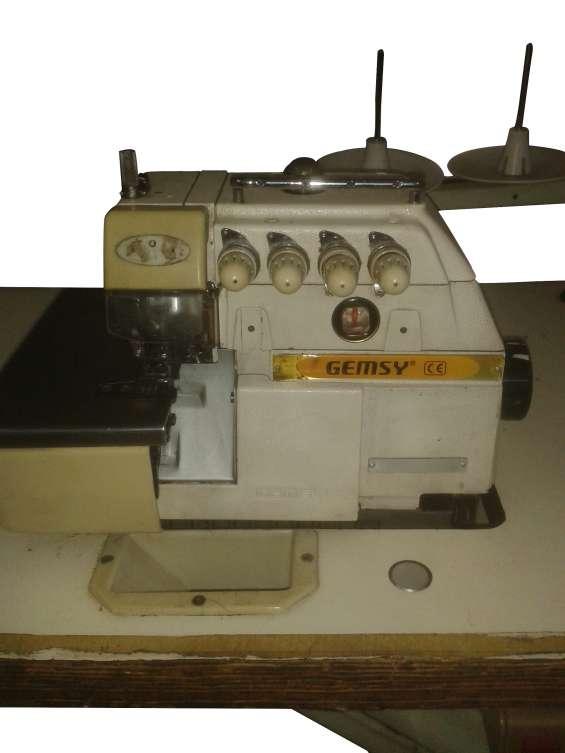 Maquina de coser overlock de 4 hilos gemsy