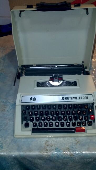 Maquina de escribir portátil
