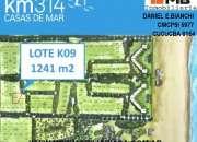 San clemente venta lote en barrio cerrado km314