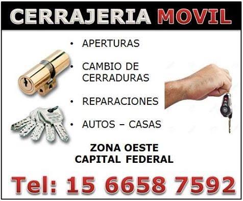 Cerrajeria *1566587592* ciudadela urgencias