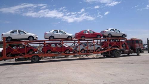 Transporte de autos mar del tuyu