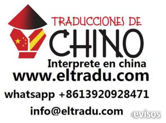 Interprete chino español en guangzhou china